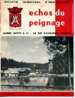 Echo Du Peignage,Alfred Motte &Cie Roubaix, Lot 3 Numeros Bulletin Trimestriel D'information Lainière De Roubaix,1964-5 - Other