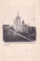 Rouen, Le Monument De Jeanne D'Arc à Bonsecours, Belle Précurseur. - Rouen