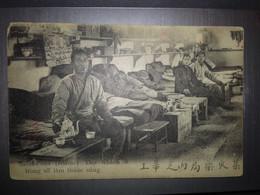 Cpa RARE Dep 69 ST FONS Ouvriers Chinois Travaillant à La Poudrerie - Zonder Classificatie