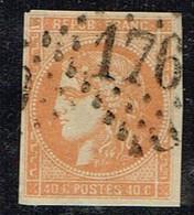 A9D-N°48 Orange  Pelurage Voir Scan De Comparaison Des Nuances - 1870 Emission De Bordeaux