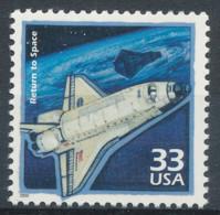 1990 USA, Neuf, Return To Space - USA