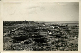 Gd Format:environ15cms X10cms -ref AA350- Calvados -guerre 1939-45-ouistreham Riva Bella -plage Cote Ex Casino- 1944 - - Ouistreham