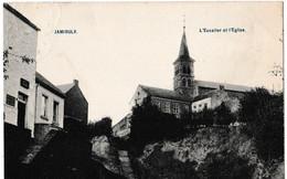 Jamioulx - L'Escalier Et L'Eglise - Charleroi