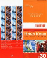 Hong Kong - 2002 - Eastern And Western Culture - Sailing And Rowing - Mint Definitive Stamp Booklet - Cuadernillos/libretas