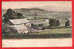 BRECONSHIRE   BRECON   THE BREENOC BEACONS AND COTTAGE   FARM  Pu 1906 - Breconshire