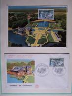 FRANCE FDC 21 JUIN 1969 CHATEAU DE CHANTILLY - 1960-1969