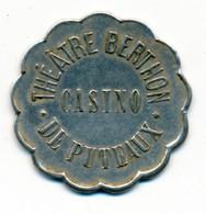 JETON De CASINO // PUTEAU (92) // Théâtre Berthon // Jeton De Trente Centimes - Casino