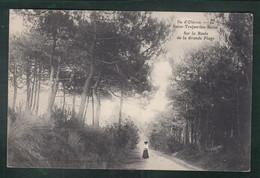 CP - 17 - Ile D'Oléron - Saint-Trojan-les-Bains - Sur La Route De La Grande Plage - Ile D'Oléron