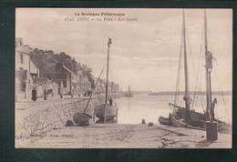 CP - 22 - Binic - Le Port - Les Quais - Binic