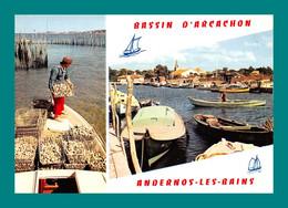 33 Andernos Les Bains Bassin D' Arcachon ( Multivues, Parcs A Huitres, Port ) - Andernos-les-Bains