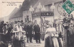 Mgr L. DIZIEN  évêque D'Amien à Hérissart Le 30 Mai 1912    (lot Pat 93/A) - Sonstige Gemeinden