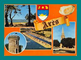 33 Ares Plage Port De Pèche La Tour ( Huitre, Coquillages, Multivues ) - Arès