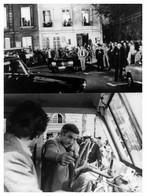 "PHOTO PRESSE PRESS TF1 - "" Adieu Poulet "" De PIERRE GRANIER DEFERRE - LINO VENTURA - PATRICK DEWAERE - 1985 - Beroemde Personen"