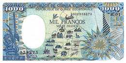 GUINEE EQUATORIALE 1985 1000 Franc -  P21  Neuf - UNC - Equatorial Guinea