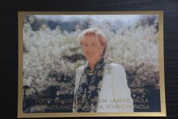 Jaar 2007: BL146 'Koningin Paola' - Ongetand Met Nummer - Zeer Mooi! - Imperforates