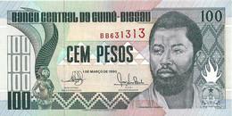GUINEE-BISSAU 1990 100 Peso -  P11  Neuf - UNC - Guinea-Bissau
