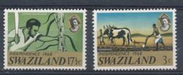 1968 Swaziland, Neufs, Sugar Cane - Agricoltura