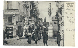 Blankenberghe  Blankenberge   L'Escalier Des Lions   Edit H. N. à A (Antwerpen) N° 601 - Blankenberge