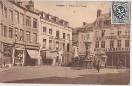 CPA Namur (Belgique) Place De L'Ange Boutiques Vierge Noire Halles Centrales Le Pays Démocrates Chrétiens .. Rare - Namur