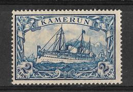 Cameroun, Kamerun, German Colony 1900, 2 Mark. Michel 17/ Scott 17, MLH. - Kolonie: Kamerun