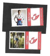 Zdenek Stybar Cycling  XX Postfris  Duostamp - Sellos Privados