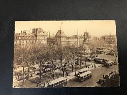 157 - PARIS Et Ses Merveilles - Place De La Republique - 1946 Timbrée - Markten, Pleinen