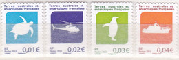 Frans Antarctica 2013, Postfris MNH, Turtle, Penguin, Birds, Ship, Helicopter - Nuevos