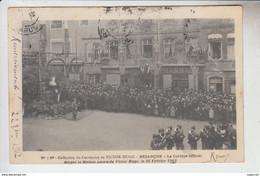 RT30.555  DOUBS. BESANCON .CENTENAIRE DE VICTOR HUGO CORTEGE OFFICIEL DEVANT LA MAISON .FEVRIER 1902 N° 3 BIS - Besancon
