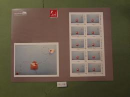"""2021 EMISSION DU CARRE D'ENCRE """" COEURS SAINT VALENTIN 2021 """" Lettre Monde 20g ADHESIF COLLECTOR 10 TIMBRES - Collectors"""