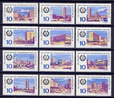 DDR Nr.1495/1506   ** Mint   (7353)  (Jahr:1969) - Ongebruikt