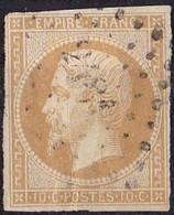 France Napoléon III Type II N°13B Année 1860 Oblitéré B - 1853-1860 Napoleon III