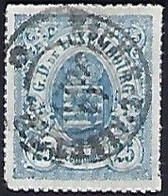 Luxembourg - Luxemburg - Timbres Armoires  1865  °  25C.  -  Michel 20b  Geprüft  FSPL - Blocs & Feuillets
