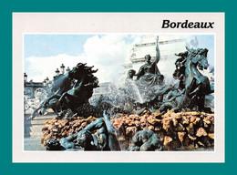 33 Bordeaux Monuments Des Girondins Fontaine 1040 - Other