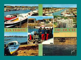 33 La Teste De Buch Triage Des Huitres Parcs A Huitres Le Port ( Multivues ) - Andere Gemeenten