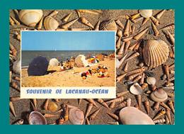 33 Lacanau Océan ( Multivues, Coquillages, Plage ) - Sonstige Gemeinden