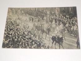 CARTE POSTALE 22/11/18 ENTREE DU ROI ET DES TROUPES ALLIEES - War 1914-18