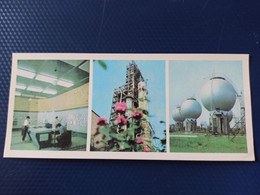 North Caucasus, Russia, Chechnya. GROZNYI Capital. Oil Plant. 1978.  Long Format - Chechnya