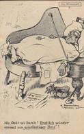 AK Endlich Wieder Ein Anständiges Bett -  Soldat In Flügel - Karikatur Pommerhanz - Feldpost RIR 83 - 1917 (54327) - War 1914-18
