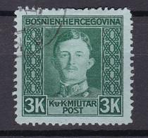 Österreich - Bosnien - 1917 - Michel Nr. 139 A - Gestempelt - 32 Euro - Gebruikt
