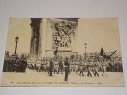 CARTE POSTALE LES POLONAIS 14 JUILLET 1919 - War 1914-18