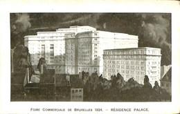 034 054 - CPA - Belgique - Bruxelles - Résidence Palace - Cafés, Hôtels, Restaurants