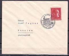 Deutsches Reich - 1938 - Brief - Linz Geburtstag Der Führers - Sonderstempel - Cartas