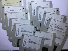 Windows 95 13 Disquettes Installation - Dischetti 3.5
