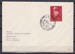 Deutsches Reich - 1943 - Brief - Europa Einheitsfront Gegen Den Bolschewismus - Sonderstempel - Cartas