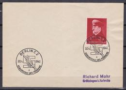 Deutsches Reich - 1941 - Brief - Berlin C 2 Geburtstag Des Führers - Sonderstempel - Cartas
