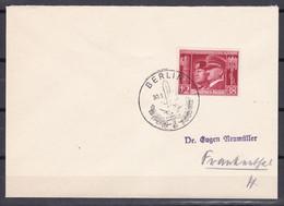 Deutsches Reich - 1941 - Brief - Berlin Waffenbrüderschaft - Sonderstempel - Cartas