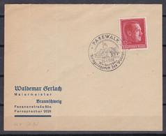 Deutsches Reich - 1938 - Brief - PASEWALK - Sonderstempel - Cartas
