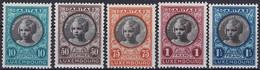 Luxembourg, Luxemburg 1927 CARITAS Princesse Elisabeth Série Neuf**MNH Val. Catalogue:5€ - Unused Stamps