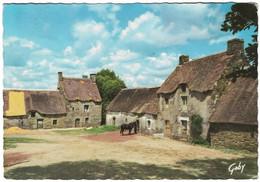Chaumières De Bretagne (carte Voyagée) - Bretagne