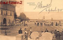 KONSTANZ BAHNÜBERBANG PASSAGE A NIVEAU RAILWAY DEUTSCHLAND - Konstanz